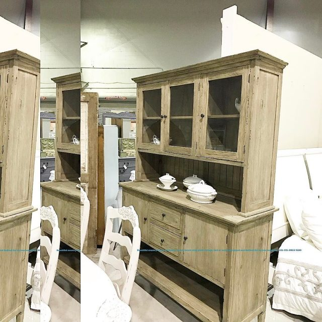 Beautiful large hutch for sale 899 Reclaimed wood 2 pieceshellip