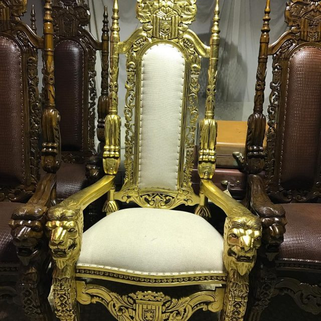 Fit for a king Specialty chairs and so much morehellip