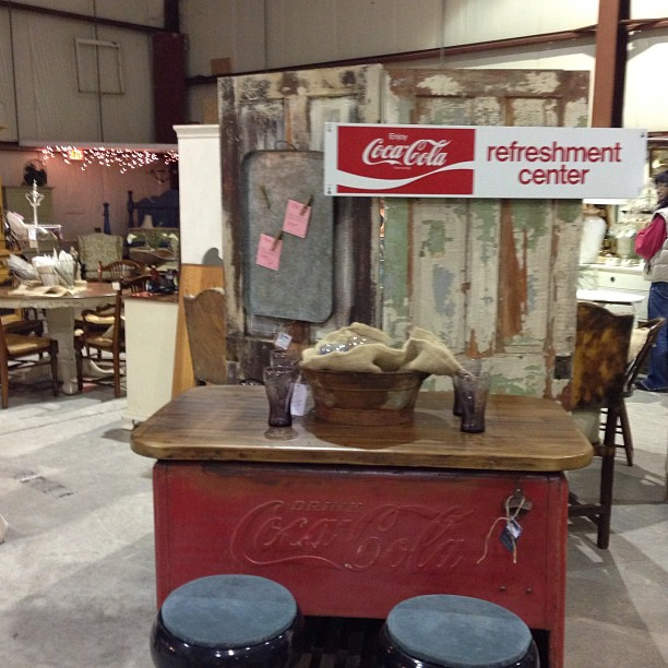 Upcycled Coca Cola Cooler